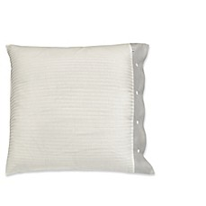 image of Arktis 300-Thread-Count Organic Cotton European Pillow Sham in Grey