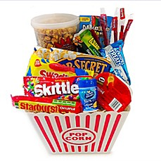 image of Fifth Avenue Gourmet 12-Piece Movie Snack Gift Basket