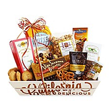 image of California Delicious Sweet and Salty Sampler Gift Basket