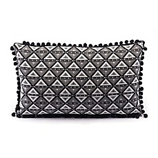 image of zuo modern triangles throw pillow
