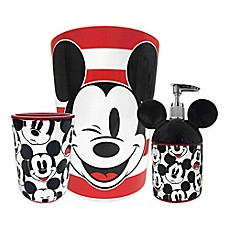 image of Disney® Mickey Mouse Big Face Bath Ensemble