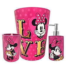 image of Minnie Mouse XOXO Bath Ensemble