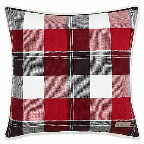 Throw Pillows Meaning : Eddie Bauer Lodge Square Throw Pillow - Bed Bath & Beyond