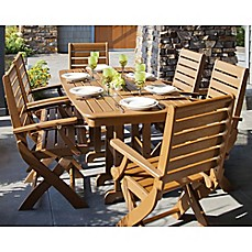 image of POLYWOOD® Signature 7-Piece Outdoor Dining Set