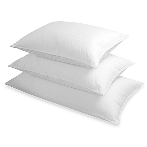 The seasons collectionr grand horizon white down back for Best down pillows for stomach sleepers