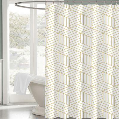 Image Of Aurelain 72 Inch X 72 Inch Fabric Shower Curtain In White/