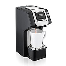 image of Hamilton Beach® FlexBrew Single-Serve Plus Coffee Maker in Black