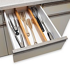 Lipper International Bamboo Drawer Dividers (Set Of 2)