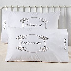 image of Happily Ever After Pillowcases (Set of 2)