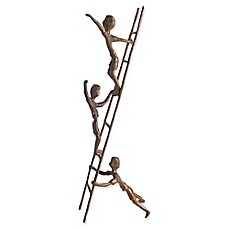 image of Danya B.™ Children on a Ladder Bronze Sculpture
