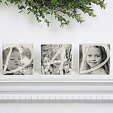 image of Dad Photo Self Blocks (Set of 3)