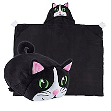 image of Comfy Critters™ Cat Wearable Stuffed Animal in Black