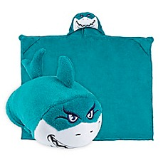 image of Comfy Critters™ Shark Wearable Stuffed Animal in Blue