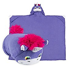 image of Comfy Critters™ Unicorn Wearable Stuffed Animal in Purple