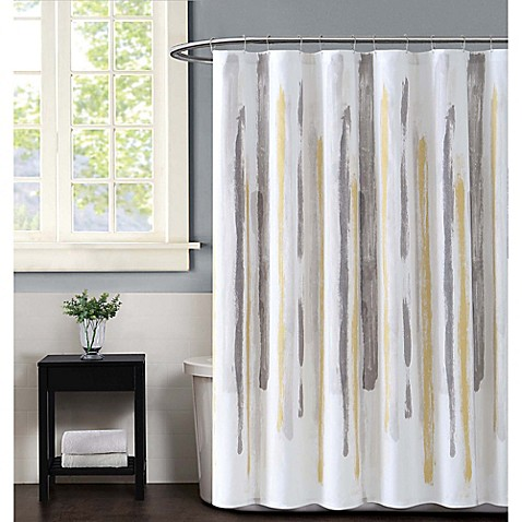 5749c643943 Buy DKNY Highline Stripe Shower Curtain at Bed Bath   Beyond in ...