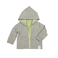 image of Robeez® Hooded Knit Jacket in Grey