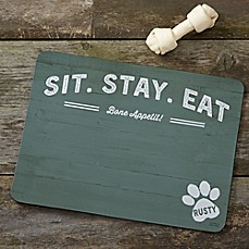 image of Farmhouse Style Dog Food Mat