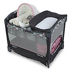 image of Graco® Pack 'n Play® Playard with Cuddle Cove™ Removable Rocking Seat in Addison™