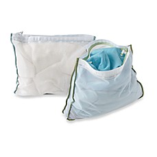 image of Real Simple® Wash Bags (Set of 2)