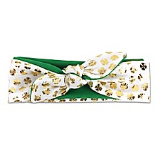 image of Tiny Treasures St. Patty's Headband in Green/Gold