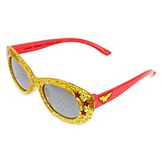 image of Warner Brothers® Wonder Woman Sunglasses in Black/Yellow