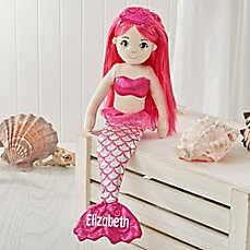 image of Sea Sparkles™ 18-Inch Mermaid Doll