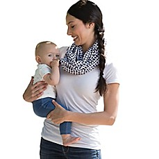image of Boppy™ Teething Scarf in Black/White