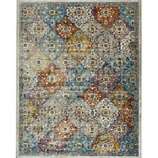 Image Of Parlin By Nicole Miller Patchwork Area Rug