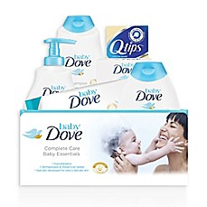 image of Baby Dove® 6-Piece Complete Care Bath Time Essentials Gift Set