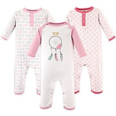 image of Hudson Baby® 3-Pack Dream Union Suits