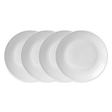image of Gordon Ramsay by Royal Doulton® Maze Dinner Plates (Set of 4) in White