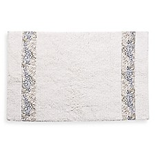 image of Croscill® Spa Tile 30-Inch x 20-Inch Bath Rug in White