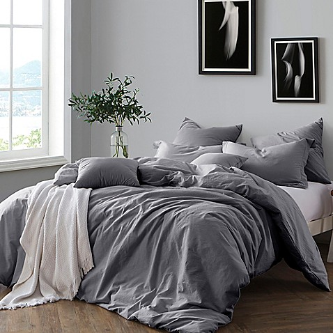 Swift Home Prewashed Yarn Dyed Duvet Cover Set Bed Bath