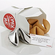 image of Will You Be My Date Personalized Fortune Cookie