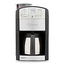 image of Capresso® CoffeeTEAM TS 10-Cup Digital Thermal Coffee Maker with Grinder