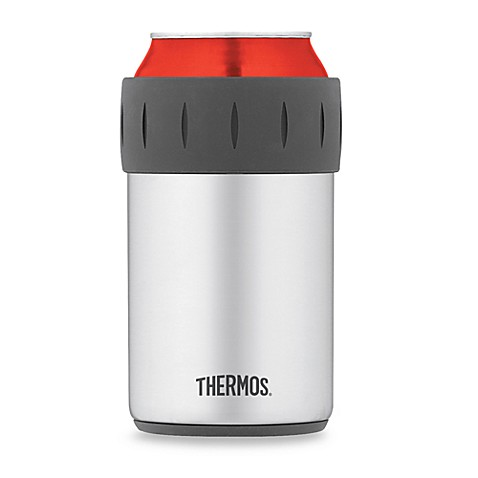 thermos vacuum insulated beverage can insulator bed bath beyond. Black Bedroom Furniture Sets. Home Design Ideas