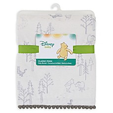 image of Disney® Classic A Day with Pooh Plush Blanket