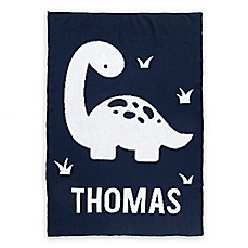 image of Tadpoles™ by Sleeping Partners Dinosaur Knit Baby Blanket