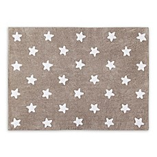 image of Lorena Canals Stars 4'x5' Area Rug