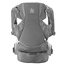 image of Stokke® MyCarrier™ 3-in-1 Front and Back Mesh Carrier in Grey Mesh