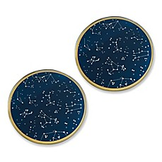 image of Kate Aspen® Under the Stars Glass Coasters (Set of 12)