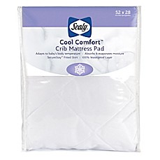 image of Sealy® Cool Comfort Crib Mattress Pad