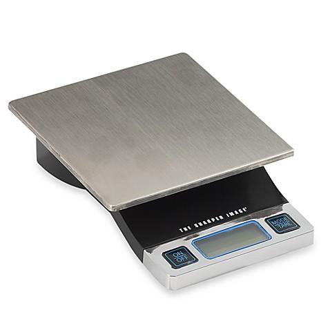 Sharper Image Reg Precision Digital Food Scale