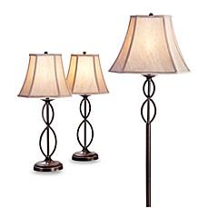 Image Of 3 Piece Infinity Lamp Set