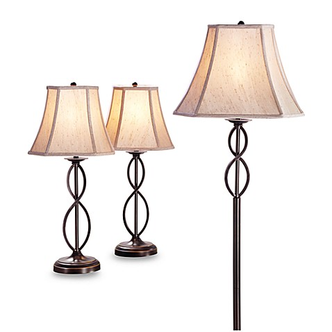 3 Piece Infinity Lamp Set Bed Bath Amp Beyond