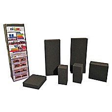 image of Rainbow Foameez Yoga 5-Piece Yoga Prop Kit in Charcoal