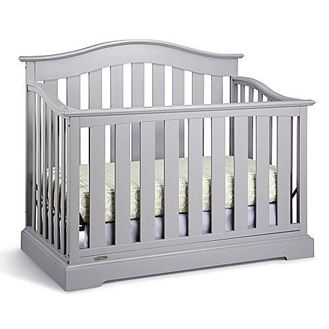 Graco 174 Westbrook 4 In 1 Convertible Crib In Pebble Grey
