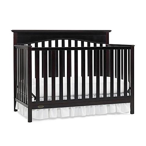Graco 174 Hayden 4 In 1 Convertible Crib In Espresso Bed