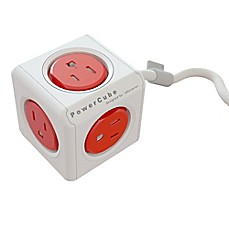 image of Allocacoc 5-Outlet Power Cube with 5-Foot Cord