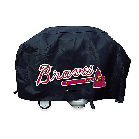 Buy Mlb Atlanta Braves Deluxe Grill Cover From Bed Bath